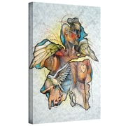 "ArtWall ""Wonder III"" Gallery Wrapped Canvas Art By Greg Simanson, 18"" x 14"""