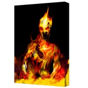 """ArtWall """"Caesium 137"""" Gallery Wrapped Canvas Art By Pyro Painter, 14"""" x 18"""""""