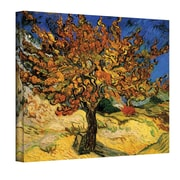 "ArtWall ""Mulberry Tree"" Gallery Wrapped Canvas Arts By Vincent Van Gogh"