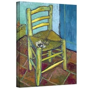 """ArtWall """"Vincent's Chair"""" Gallery Wrapped Canvas Art By Vincent Van Gogh, 24"""" x 32"""""""