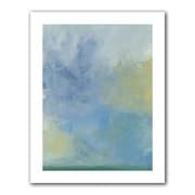 """ArtWall """"Misty Sky"""" Unwrapped Canvas Art By Jan Weiss, 14"""" x 18"""""""