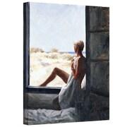 "ArtWall ""Blue Sea Dream"" Gallery Wrapped Canvas Arts By John Worthington"
