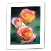 "ArtWall ""Rose Trio"" Flat/Rolled Canvas Art By Kathy Yates, 32"" x 48"""