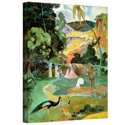 "ArtWall ""Matamoe, Landscape..."" Gallery Wrapped Canvas Art By Paul Gauguin, 48"" x 36"""