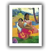 """ArtWall """"Nafea Faaipoipo, When are You..."""" Unwrapped Canvas Arts By Paul Gauguin"""