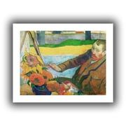 """ArtWall """"Van Gogh Painting Sunflowers"""" Unwrapped Canvas Arts By Paul Gauguin"""