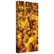 "ArtWall ""Market 1996"" Gallery Wrapped Canvas Art By Bayo Iribhogbe, 10"" x 18"""