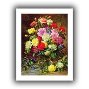 """ArtWall """"Carnations.."""" Unwrapped Canvas Arts By Albert Williams"""