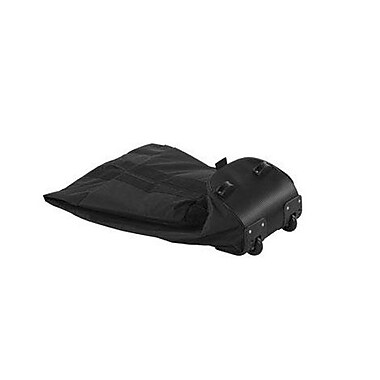 IZZO Golf® 2 Wheel Travel Cover With Built-in Wheels, Black