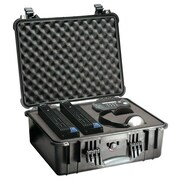 Pelican™ Hard Shipping Case With Padded Divider, Black
