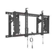 "Chief® ConnexSys™ Up to 80"" Flat Panel Display Wall Landscape Mounting System With Rails, Black"