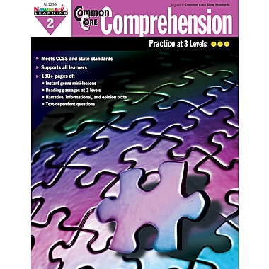 Newmark Learning Common Core Comprehension Practice, Grade 2