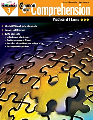 Newmark Learning Common Core Comprehension Book, Grade 3