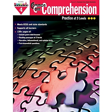 Newmark Learning Common Core Comprehension Book, Grade 4