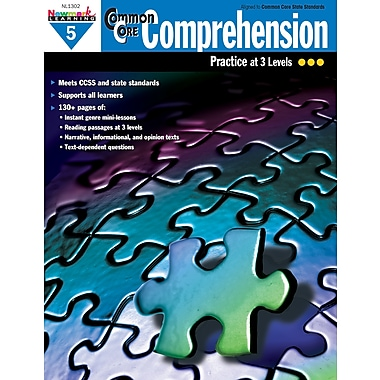 Newmark Learning Common Core Comprehension Book, Grade 5