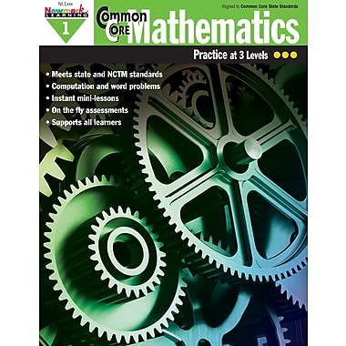 Newmark Learning Common Core Mathematics Practice, Grade 1