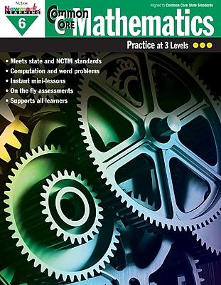 Newmark Learning Common Core Mathematics Practice, Grade 6
