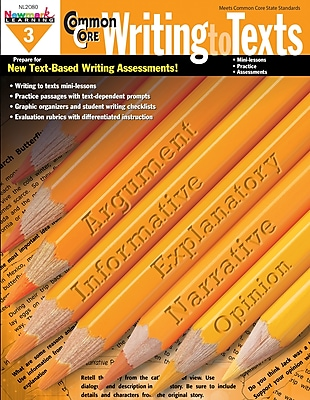 Newmark Learning Practice Writing to Texts, Grade 3