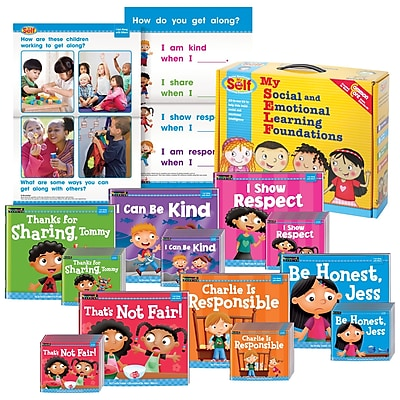 Myself by Newmark Learning I Get Along with Others Theme Boxed Set