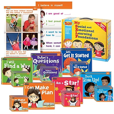Myself by Newmark Learning I Believe in Myself Theme Boxed Set