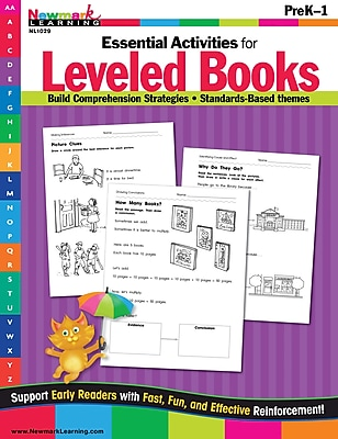 Essential Activities for Leveled Books by Newmark Learning