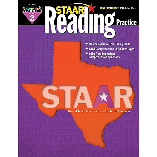 Staar Reading by Newmark Learning Grade 2