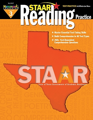 Staar Reading by Newmark Learning Grade 3