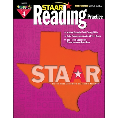 Staar Reading by Newmark Learning Grade 4