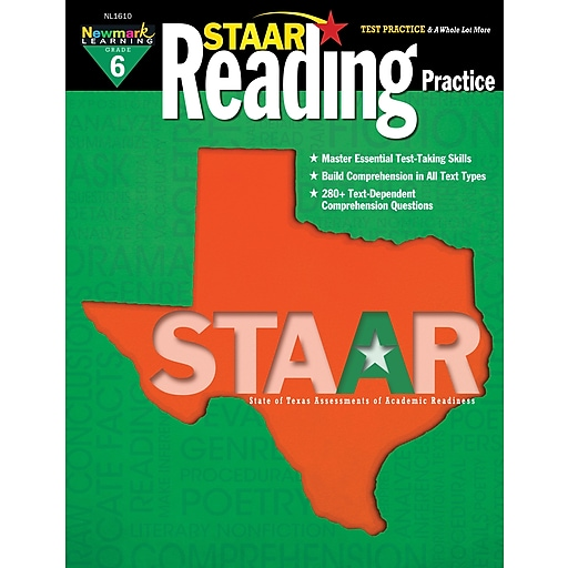 Staar Reading by Newmark Learning Grade 6