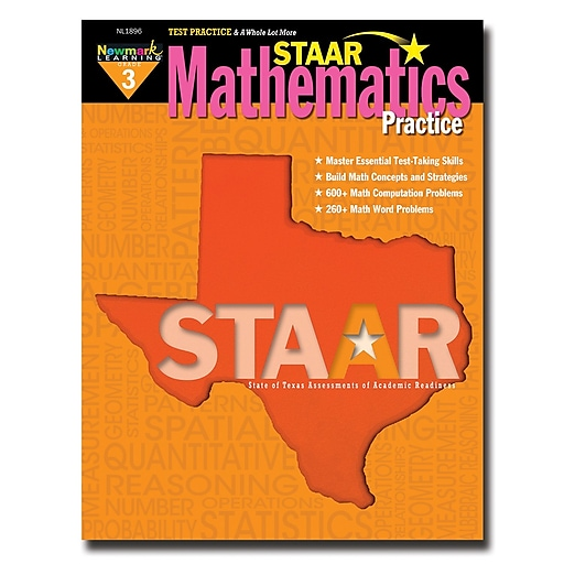 Staar Mathematics Practice by Newmark Learning Grade 3