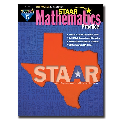 Staar Mathematics Practice by Newmark Learning Grade 5