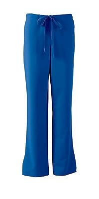 Melrose AVE.™ Combo Elastic Waist Ladies Scrub Pant, Royal Blue, XSP