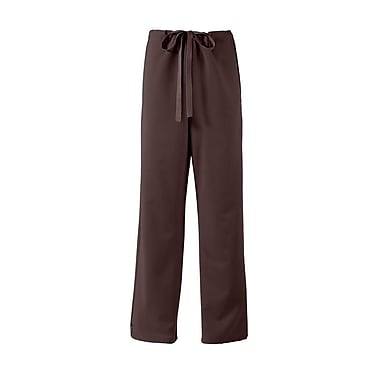 Newport AVE.™ Unisex Drawstring Scrub Pant, Chocolate, Large