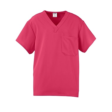 Fifth AVE.™ Unisex Scrub Top, Pink, XL