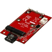 StarTech Port Mounted SATA to Mini SATA SSD Adapter Converter Card