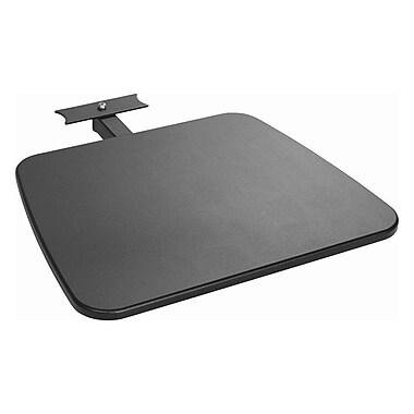 Atdec Telehook Media Shelf Accessory For Mobile TV Cart, Dark Gray