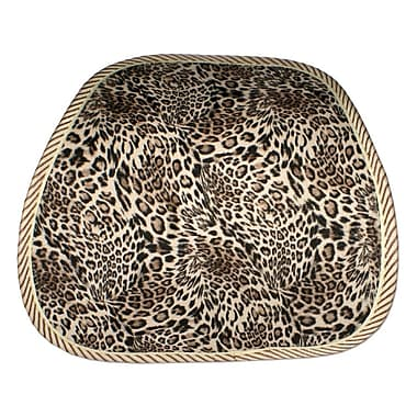 QVS® LBP-3 Premium Ergonomic Lumbar Back Support With Leopard Skin