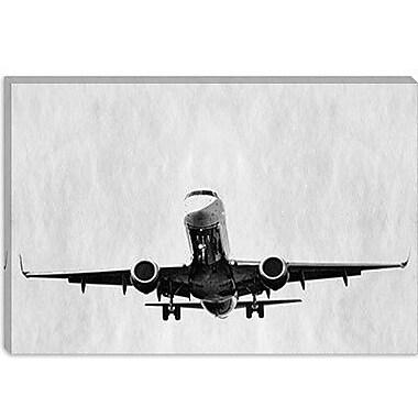 iCanvas Modern Takeoff Graphic Art on Canvas; 12'' H x 18'' W x 0.75'' D
