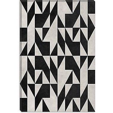 iCanvas Modern Psicodelia Graphic Art on Canvas; 40'' H x 26'' W