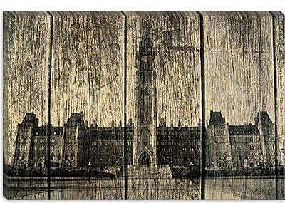 iCanvas Canada Ottawa Parliament Buildings Photographic Print on Canvas; 40'' H x 60'' W x 1.5'' D