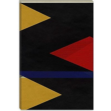 iCanvas Modern Marker Graphic Art on Canvas; 40'' H x 26'' W x 1.5'' D