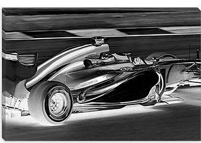 iCanvas Modern Formula 1 Graphic Art on Canvas; 18'' H x 26'' W x 0.75'' D