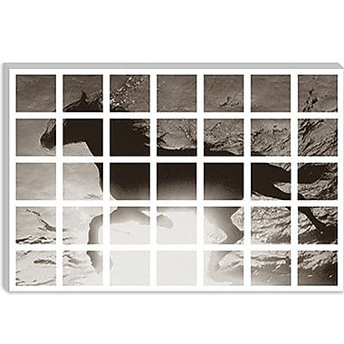 iCanvas Modern Swimming Horse Graphic Art on Canvas; 12'' H x 18'' W x 0.75'' D
