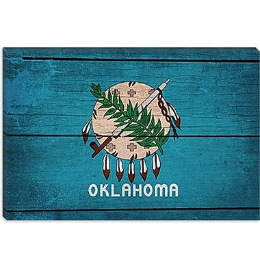 iCanvas Flags Oklahoma Graphic Art on Canvas; 18'' H x 26'' W x 0.75'' D