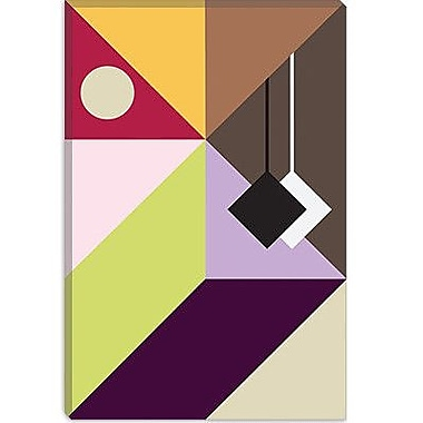 iCanvas Modern Pendulum Graphic Art on Canvas; 26'' H x 18'' W x 0.75'' D