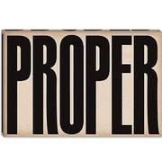 iCanvas Modern cProper Modern Textual Art on Canvas; 40'' H x 60'' W x 1.5'' D