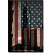 iCanvas Flags New York Freedom Tower Graphic Art on Canvas; 12'' H x 8'' W x 0.75'' D
