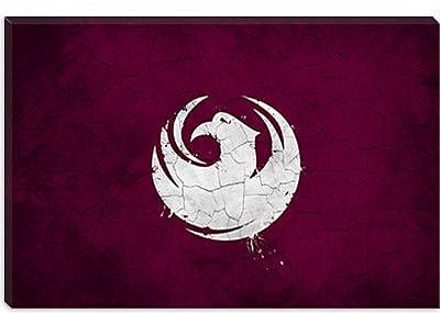 iCanvas Flag Phoenix, Arizona Grunge Painted Graphic Art on Canvas; 26'' H x 40'' W x 1.5'' D