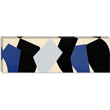 iCanvas Modern Six Chunks Graphic Art on Wrapped Canvas; 16'' H x 48'' W x 0.75'' D