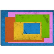 iCanvas Modern Homage to the Rectangle Graphic Art on Canvas; 12'' H x 18'' W x 1.5'' D